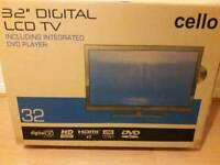 32 inch TV/DVD NEW IN THE BOX