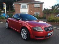 2001 AUDI TT QUATTRO 180 BHP **FULL LEATHER ** ALL CARDS ACCEPTED