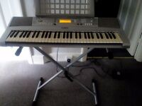 Yamaha YPT-300 for Sale, Good condition, with stand and charger