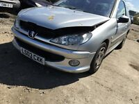 PEUGEOT 206 QUIKSILVER 2003- FOR PARTS ONLY
