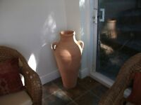 LARGE CLAY URN