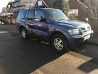 2001 Mitsubishi Shogun 3.2DiD, 12 months MOT, 7 seater, Automatic, Great Condition