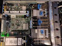 HP DL380p Gen8, 2x xeon e5-2640 V2, 32GB