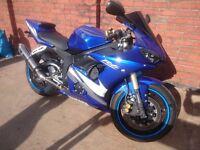 Mint Yamaha R6 05 15k mileage (r6)