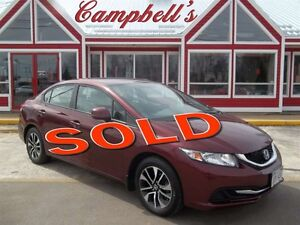 2013 Honda Civic EX!! BACK UP CAMERA!! HEATED SEATS!! SUNROOF!!