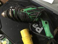 Hitachi 110v hammer drill