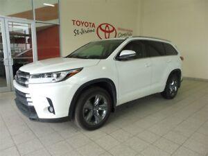 2017 Toyota Highlander * LIMITED * 24 000 KM * PEA PLATINE  100