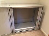 Bisley storage cabinets with sliding doors - x 3 (100 x 100 x 47 cm)
