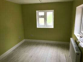 Spacious newbuilt double room close to tube and bus route 10 minutes to tube station