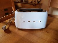 Smeg 50's Retro Two Slice Toaster Pastel Blue RRP £139