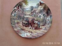 "Wedgwood Plate ""Early Morning Milk"" by Chris Howells"