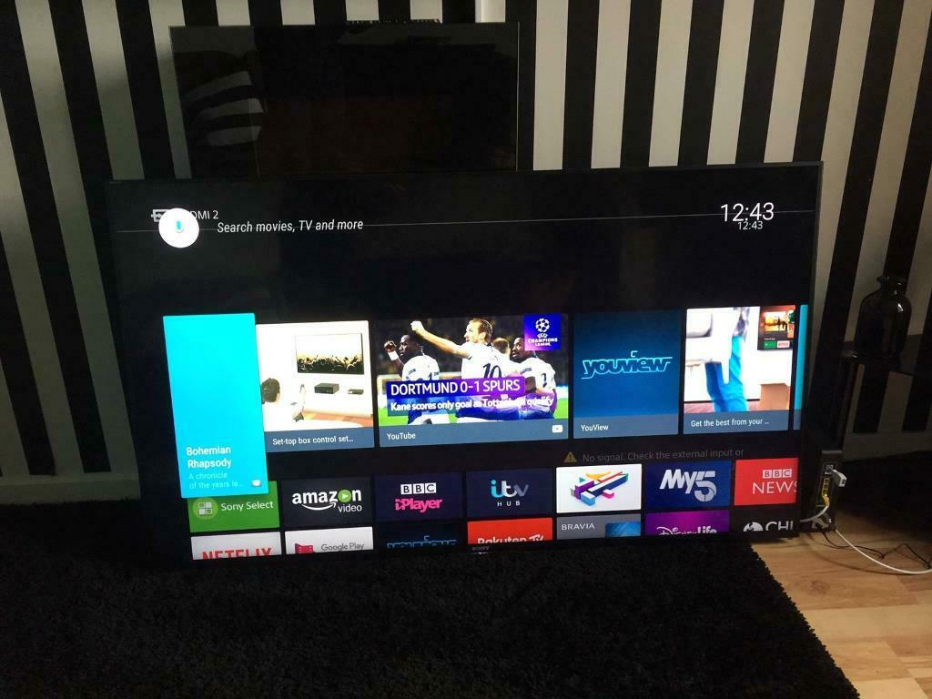 "Sony Bravia 65"" android led tv Bluetooth smart share usb optical 