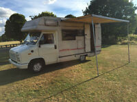 Stunning Classic Talbot campervan petrol and gas 4 berth LONG MOT low mileage clean camper