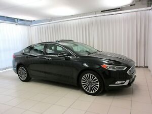 2017 Ford Fusion IT'S A MUST SEE!! SE AWD ECOBOOST SEDAN w/ NAVI
