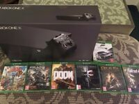 Xbox One X With 7 4K Games - Brand New and Sealed - £500 if collected tonight!