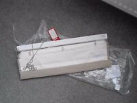 2 x Roman blinds - 600mm x 1200mm - unused