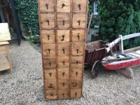 Solid Pine 27 Chest of Draws or 12 Draw Chest of Draws