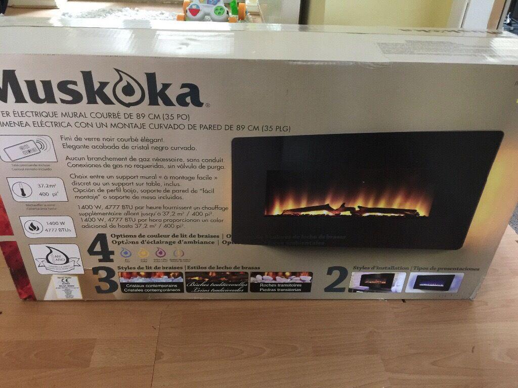 Electric fire (89cm)