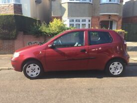 Fiat Punto 1.2 in great condition. MOT expires May 2019.