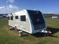 2016, Elddis Crusader Mistral, 4 berth, fixed island transverse bed, 5 star Luxury Touring Caravan,