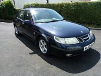 52 Plate Saab 9-5 Linear 2.0 litre petrol. MOT end April 19. Great condition just £395. PX Possible
