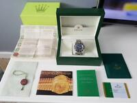 Rolex deepsea dweller James Cameron with box and papers