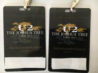 U2 Joshua Tree Tour 2017 Tickets x2 Saturday 8th July Twickenham, M35, Row 71