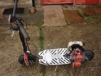 for sale mini scooter 49cc start and run good ready to go