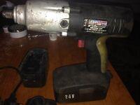 SEALEY 1/2 DRIVE TORQUE IMPACT GUN, 24WATTS