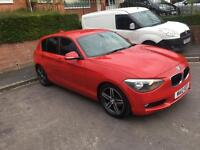 BMW 116 d 12 plate new shape full leather £5750