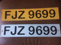 FJZ9699 private reg make someones christmas all feas paid ready to go