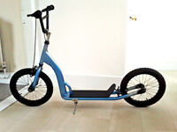 """Fully Reconditioned & Upgraded large 16"""" wheeled scooter immaculate cond perfect xmas gift"""
