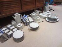 Thomas platinum band dinner, tea and coffee set
