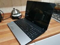 ACER LAPTOP 2ghz FOR SALE 15.5 inch screen 8gb ram Fast laptop