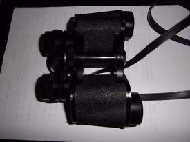 hanimex 8x30 binoculars in case