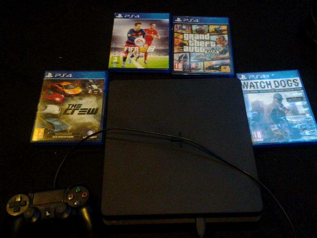 ps4 console 500gb 4 games