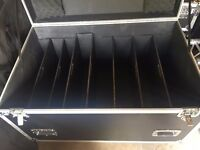 Professional DJ Road Case with Removable Partitions/Shelves