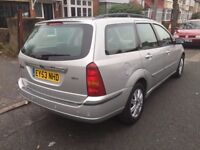 2003 FORD FOCUS 1,8TDCI ESTATE , 1 OWNER FROM NEW ,REMOTE CETRAL LOCKING
