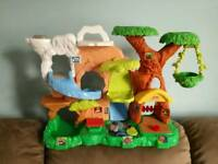 Fisher Price Little People Jungle and Safari Truck