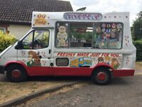 Ford Transit (2000) Ice Cream Van