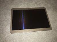 Samsung tab s 16gb wifi and sim bronze mint