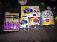 Baby formula package