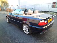 BMW 318CI,2 DOOR,CONVERTIBLE,2002,PETROL,1995cc,AUTOMATIC