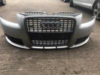 Audi a3 sline bumper complete
