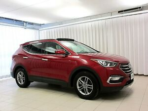 2017 Hyundai Santa Fe SPORT AWD SUV w/ Heated Seats, Panoramic S