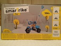 CHILDRENS ORIGINAL 'SMARTRIKE' PLAY, 3 IN 1 TRIKE/SCOOTER.