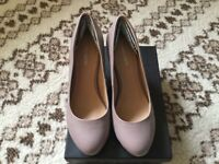 Ladies Taupe Shoes size 40/7