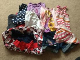 Bundle of girl's clothes size 4-5 years