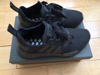 ***Exclusive*** Adidas TRIPLE BLACK NMD R1 – Size UK7