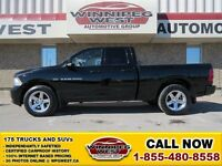 2012 Dodge Ram 1500 Black Sport Edition 4X4, 390HP 5.7L Hemi V8,
